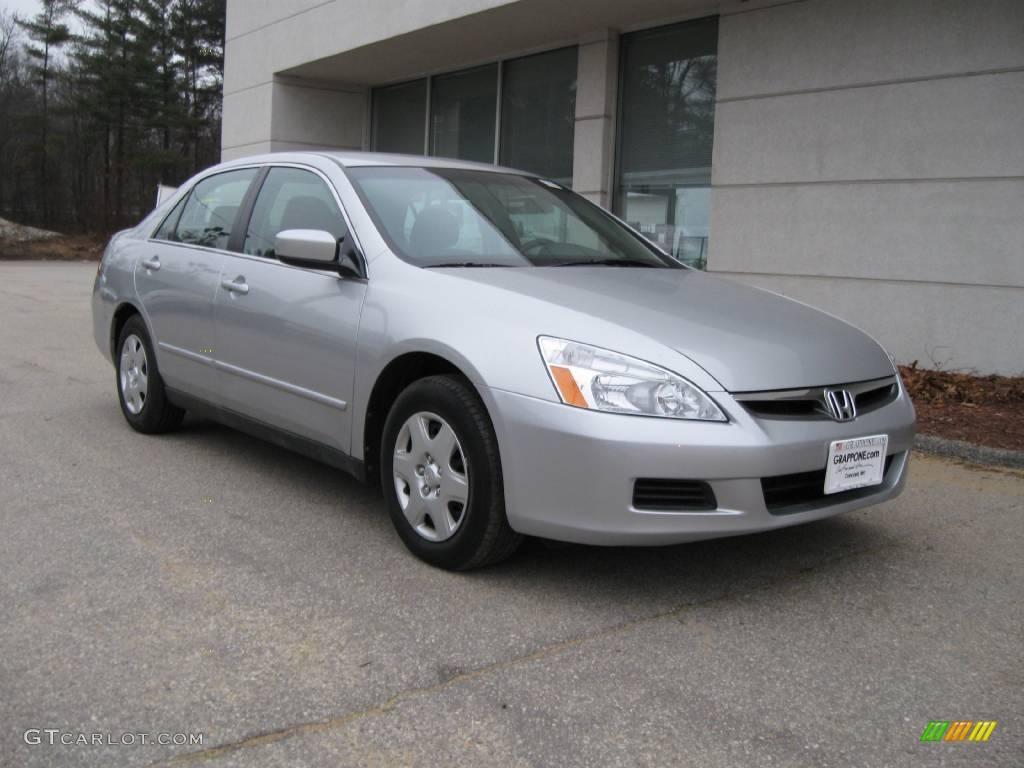 2007 Alabaster Silver Metallic Honda Accord Lx Sedan