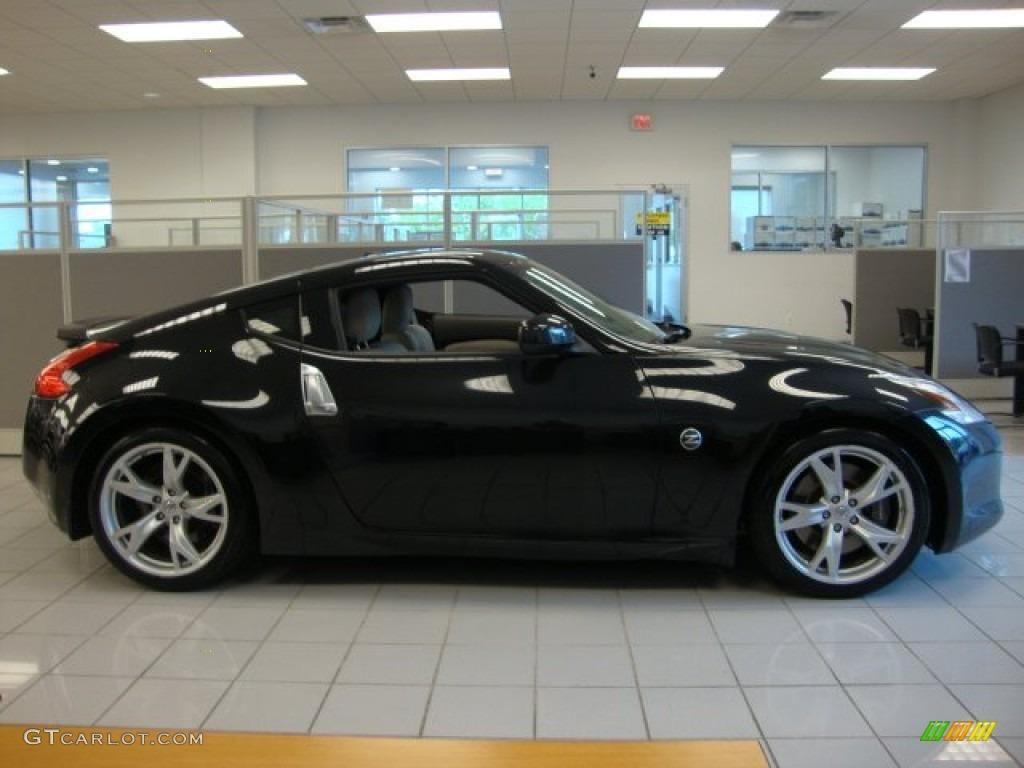 Magnetic Black 2009 Nissan 370z Touring Coupe Exterior Photo 68246275 Gtcarlot Com
