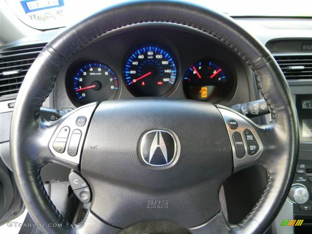 Acura TL Ebony Steering Wheel Photo GTCarLotcom - Acura tl 2004 dashboard