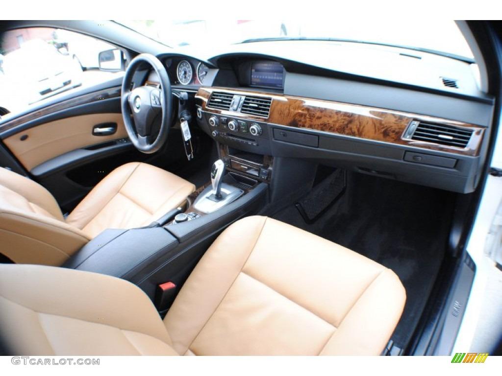 2010 bmw 5 series 528i xdrive sedan natural brown dashboard photo 68249503