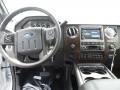 2012 White Platinum Metallic Tri-Coat Ford F250 Super Duty Lariat Crew Cab 4x4  photo #26