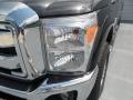 2012 Tuxedo Black Metallic Ford F250 Super Duty XLT Crew Cab 4x4  photo #8