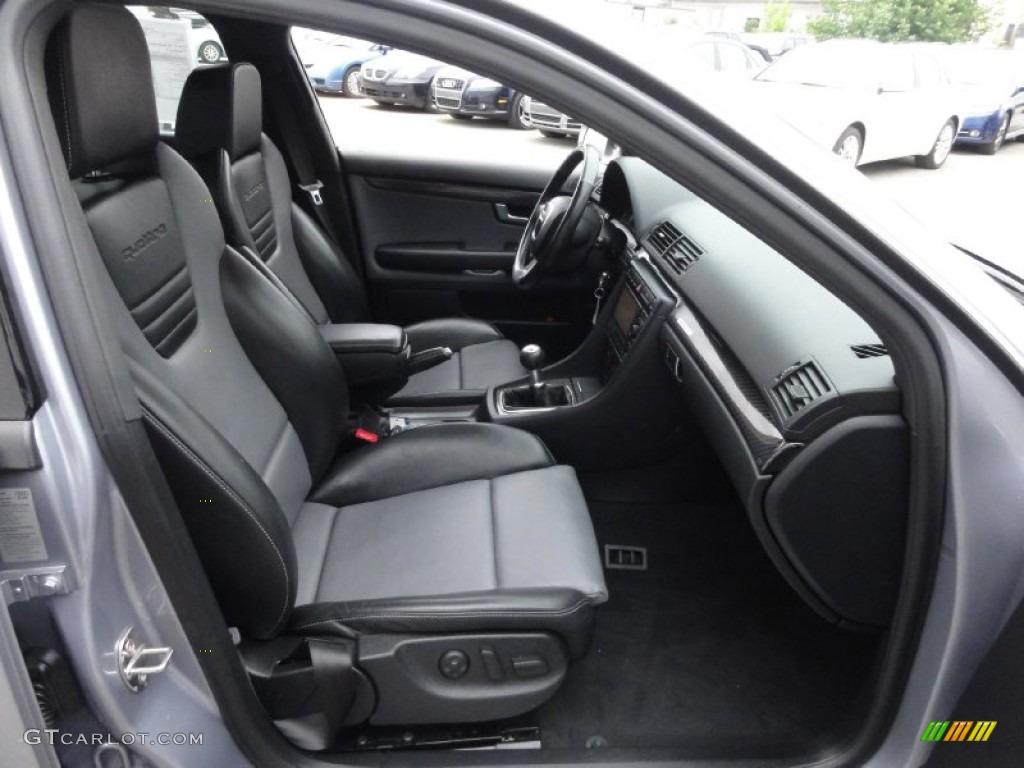 Black Jet Gray Interior 2006 Audi S4 25quattro Special