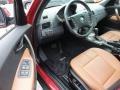 2004 BMW X3 Terracotta Interior Prime Interior Photo