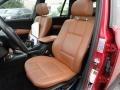 2004 BMW X3 Terracotta Interior Front Seat Photo