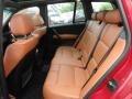 2004 BMW X3 Terracotta Interior Rear Seat Photo