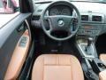 2004 BMW X3 Terracotta Interior Dashboard Photo
