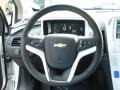 Jet Black/Ceramic White Accents Steering Wheel Photo for 2013 Chevrolet Volt #68273276