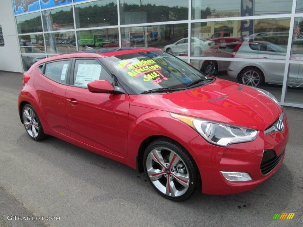 2013 Boston Red Hyundai Veloster 68223092 Photo 5 Gtcarlot Com