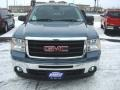 Stealth Gray Metallic - Sierra 1500 SLE Regular Cab 4x4 Photo No. 3