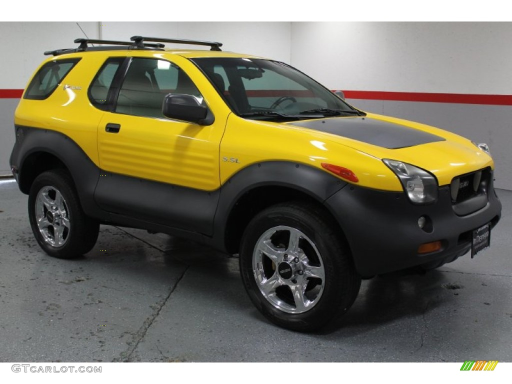 2000 proton yellow isuzu vehicross 4x4 68223718 car color galleries. Black Bedroom Furniture Sets. Home Design Ideas