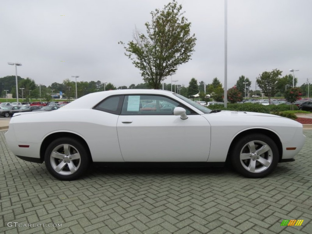 bright white 2011 dodge challenger r t plus exterior photo. Black Bedroom Furniture Sets. Home Design Ideas