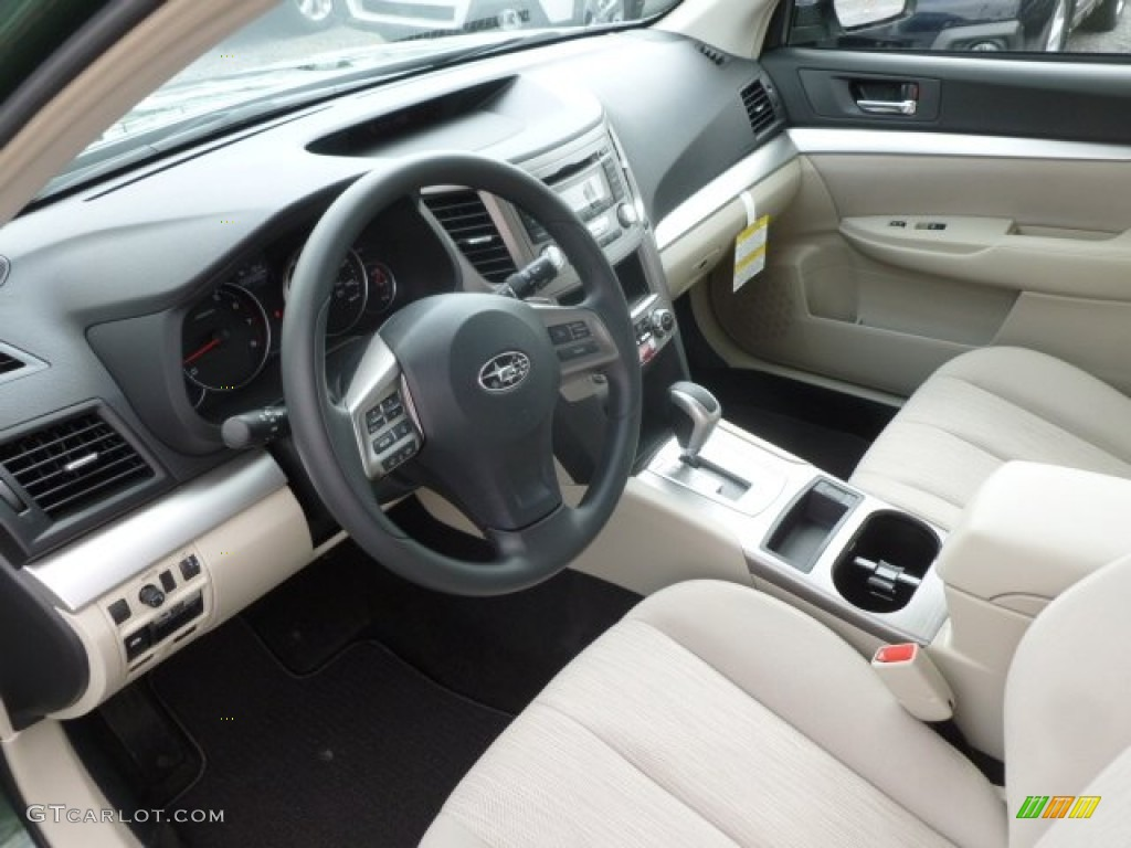 Ivory Interior 2013 Subaru Outback Photo 68287739