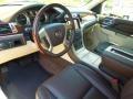 2013 Cadillac Escalade Cocoa/Light Linen Interior Prime Interior Photo