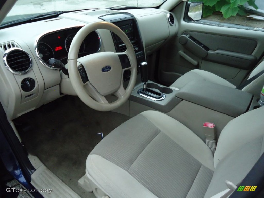 stone interior 2006 ford explorer xlt 4x4 photo 68292563