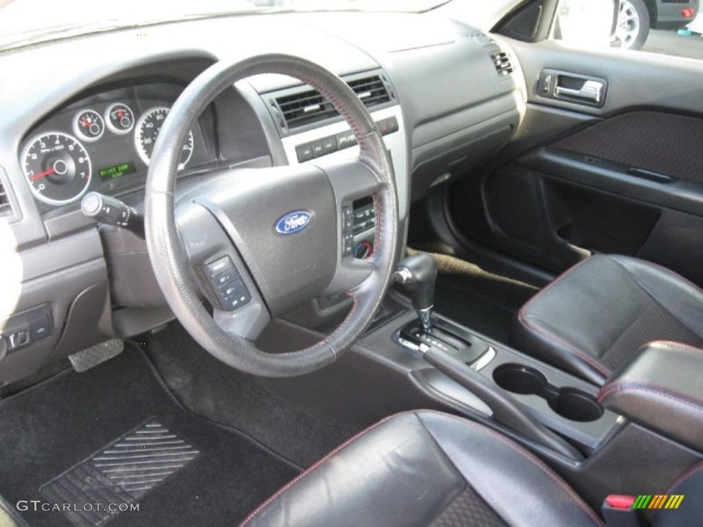 Charcoal Black Interior 2007 Ford Fusion SE Photo 68297963