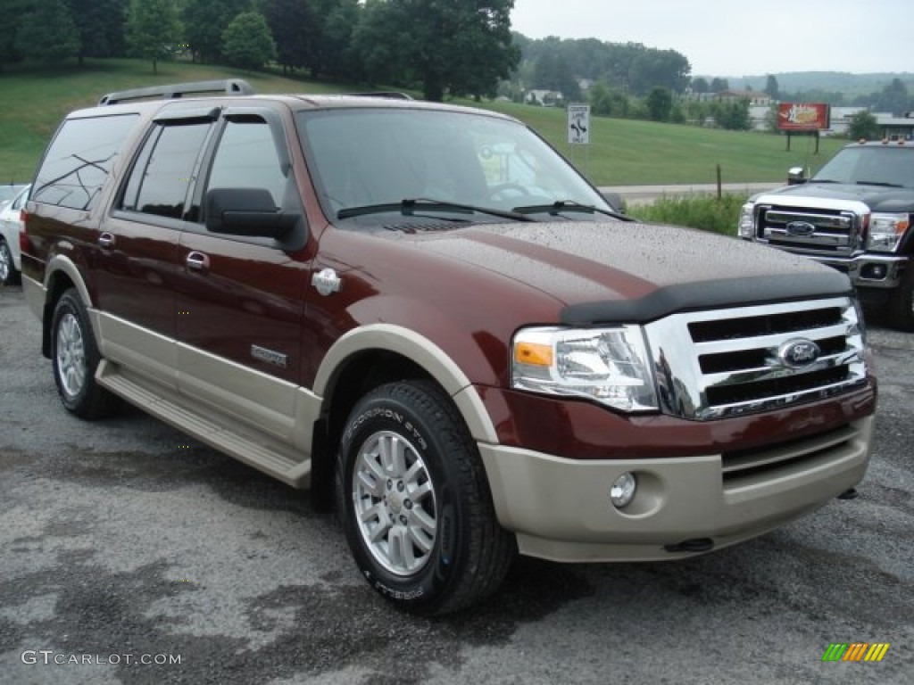 dark copper metallic 2008 ford expedition el king ranch. Black Bedroom Furniture Sets. Home Design Ideas