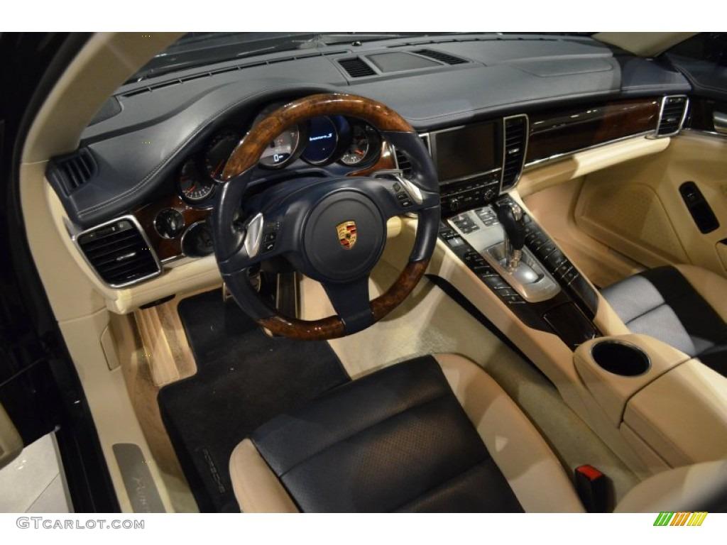 Yachting Blue Cream Interior 2010 Porsche Panamera 4s Photo