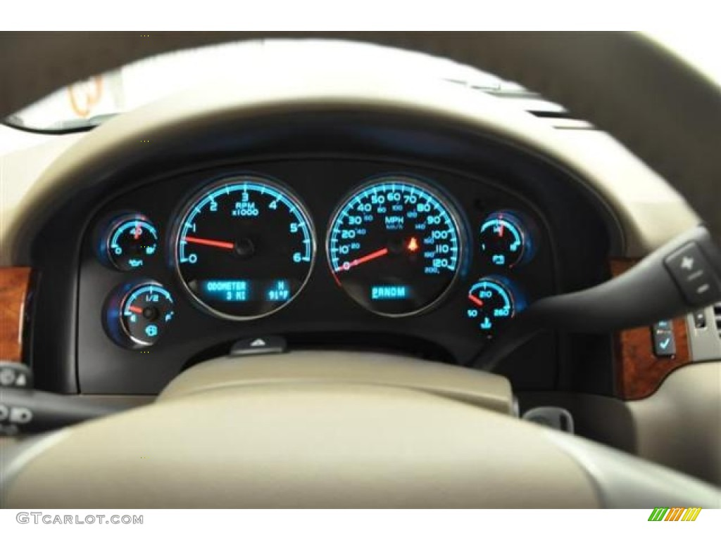 2013 Chevrolet Silverado 1500 LTZ Crew Cab 4x4 Gauges Photo #68314920
