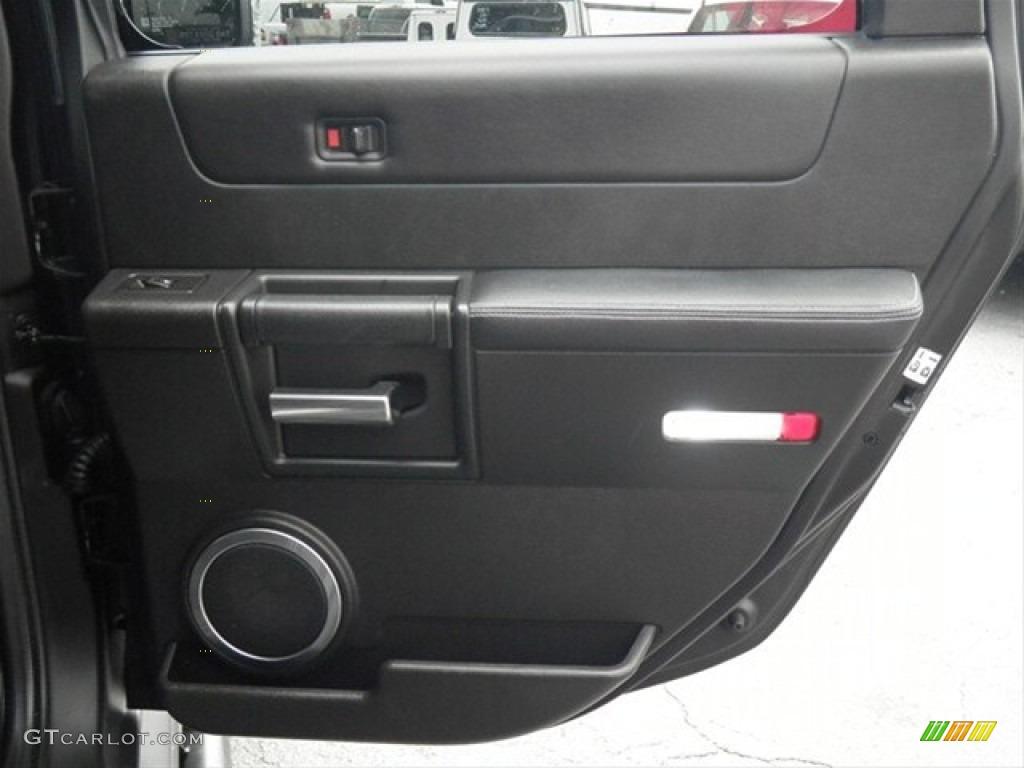 2007 hummer h2 suv ebony black door panel photo 68321006 - 2003 hummer h2 interior door panel ...