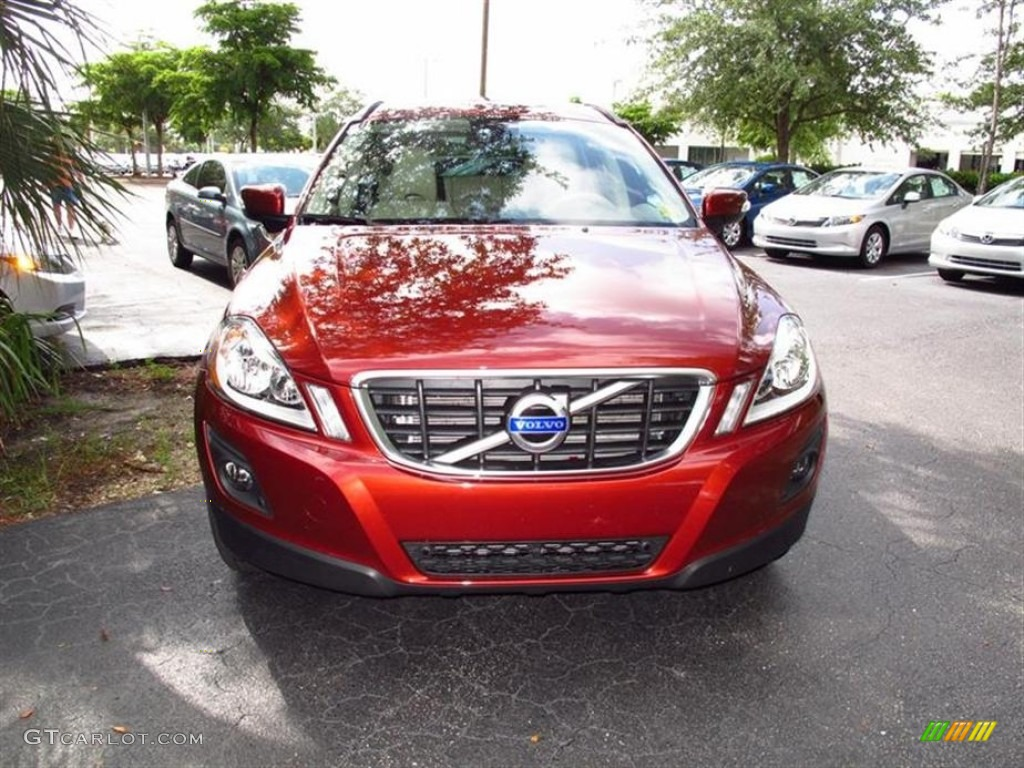 2010 XC60 3.2 - Maple Red Metallic / Sandstone photo #1