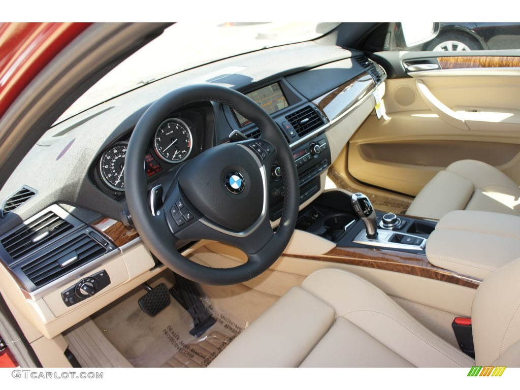 Sand Beige Interior 2013 Bmw X6 Xdrive35i Photo 68333147 Gtcarlot Com