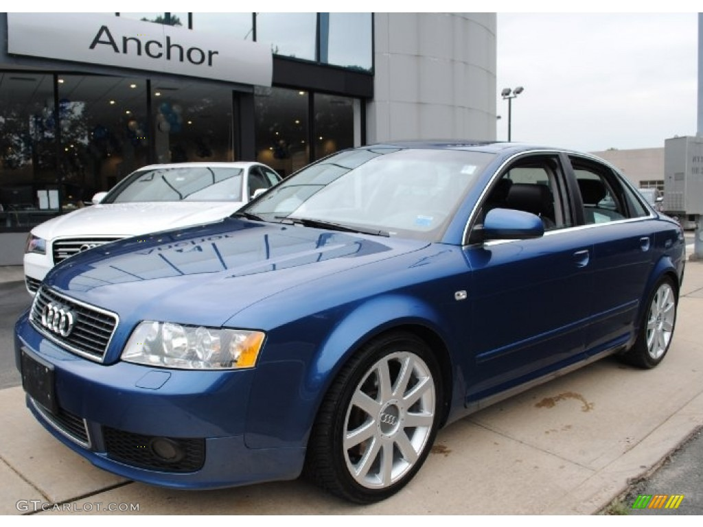 2004 ocean blue pearl effect audi a4 3 0 quattro sedan. Black Bedroom Furniture Sets. Home Design Ideas