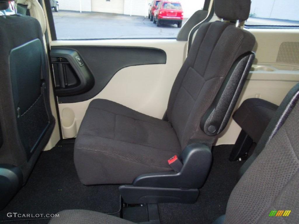 Black Light Graystone Interior 2012 Dodge Grand Caravan Sxt Photo 68340309