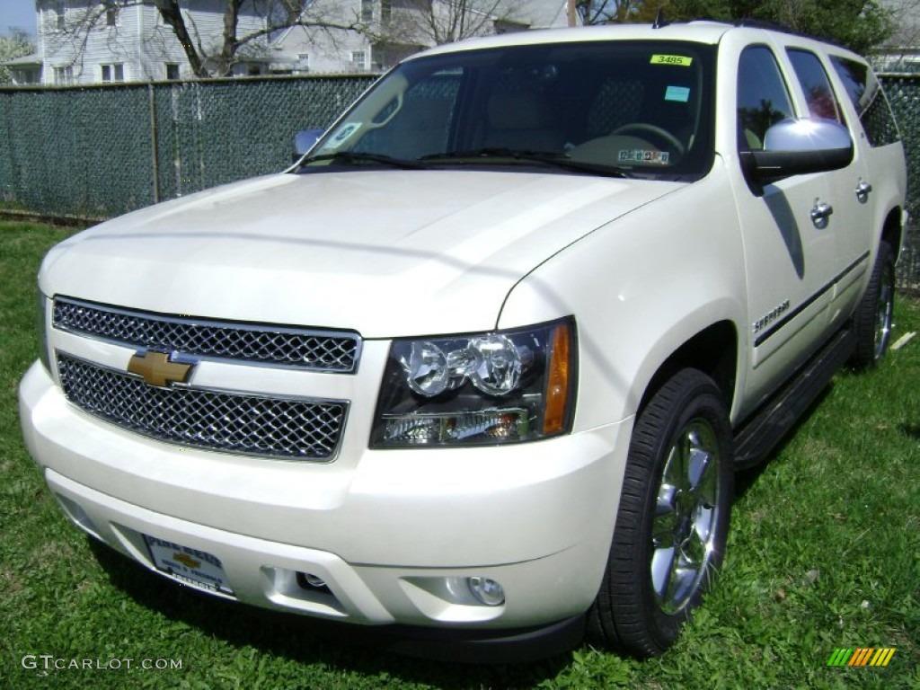 2014 Chevrolet Suburban Ltz 1500 White Diamond In Cold Spring  Apps