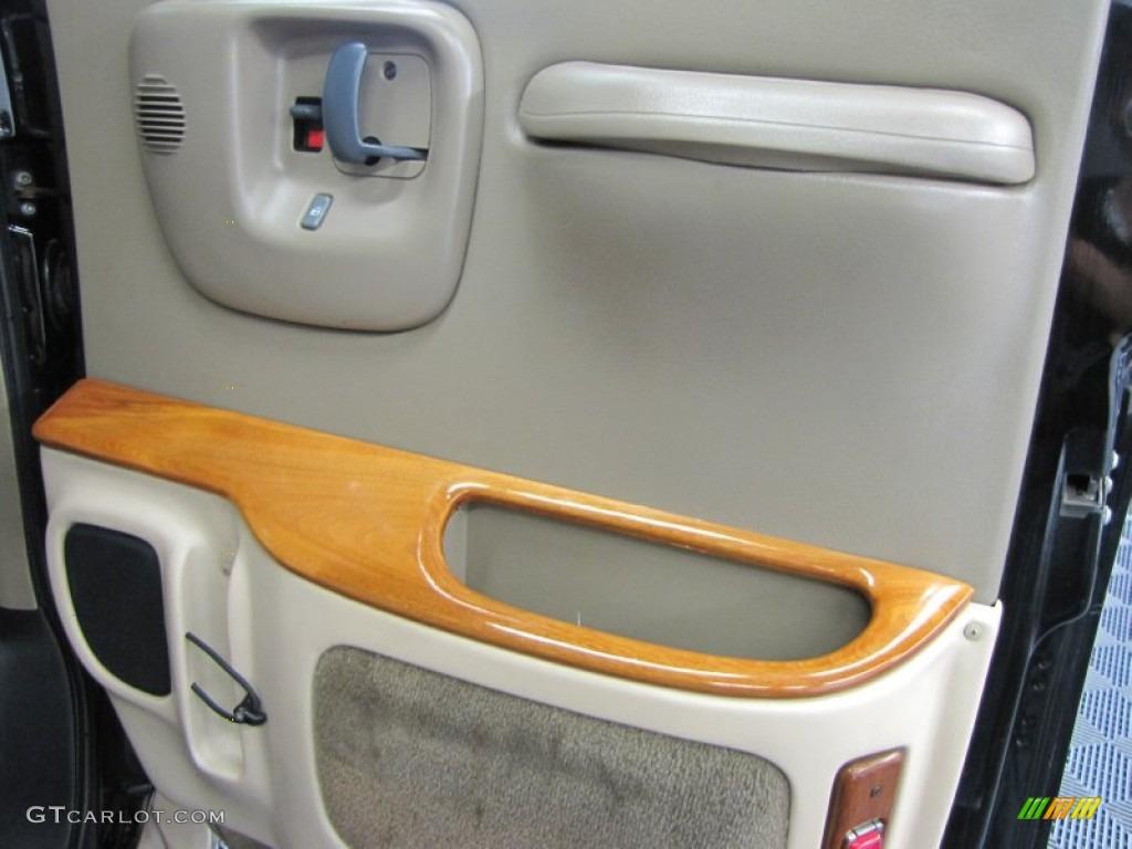 1999 Chevrolet Express 1500 Passenger Conversion Van Door Panel Photos