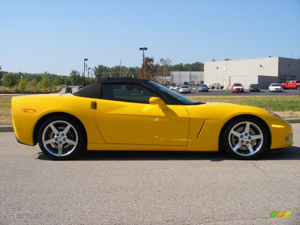 Velocity Yellow 2006 Chevrolet Corvette Convertible