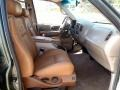 2002 F150 King Ranch SuperCrew 4x4 Castano Brown Leather Interior