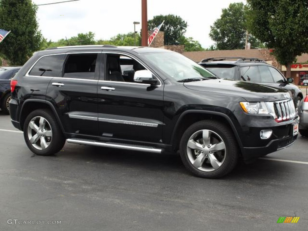 brilliant black crystal pearl 2012 jeep grand cherokee. Black Bedroom Furniture Sets. Home Design Ideas