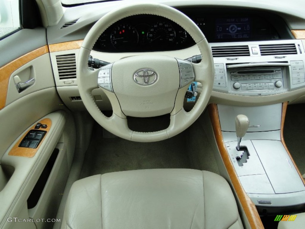 2005 toyota avalon xls ivory dashboard photo 68366191. Black Bedroom Furniture Sets. Home Design Ideas