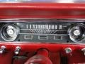 1965 Ford Mustang Red Interior Gauges Photo