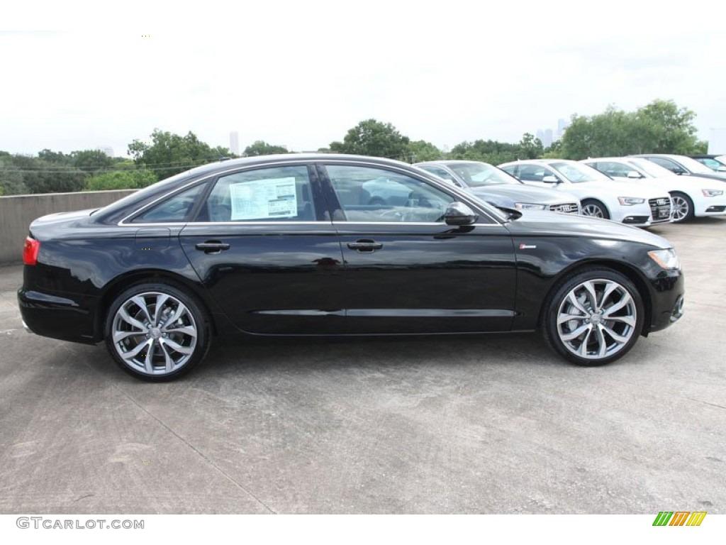 Brilliant Black 2013 Audi A6 3 0t Quattro Sedan Exterior