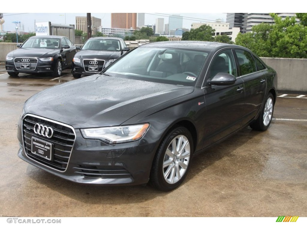 Oolong Gray Metallic 2013 Audi A6 3 0t Quattro Sedan