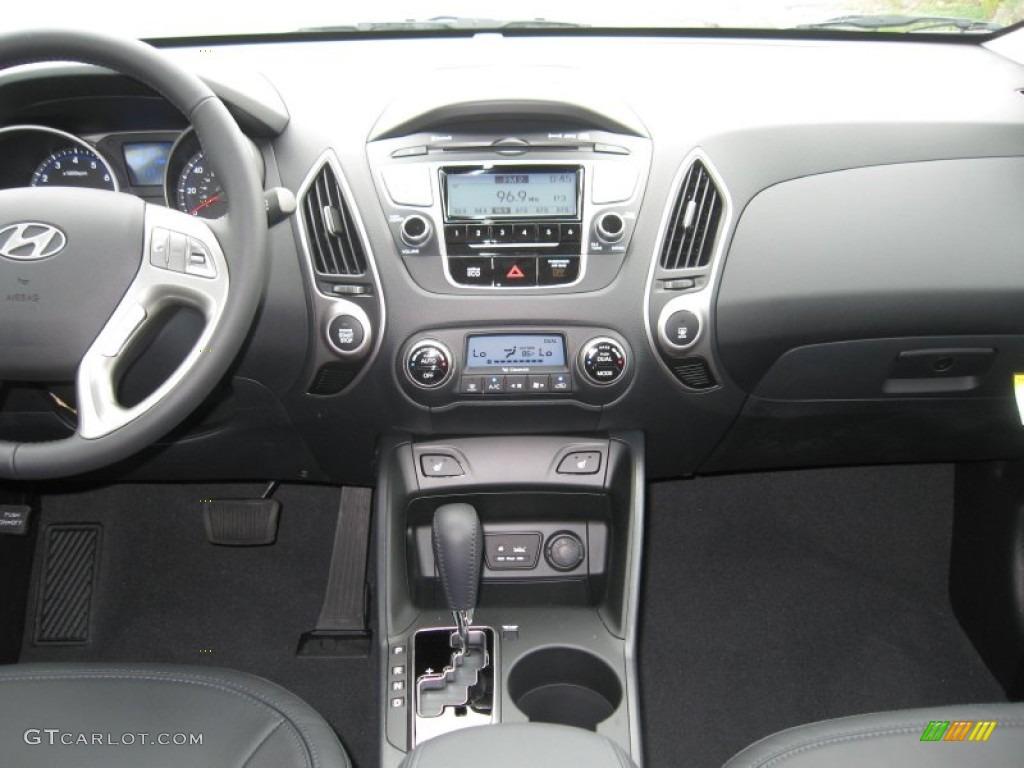 2013 hyundai tucson limited black dashboard photo - Hyundai tucson interior pictures ...