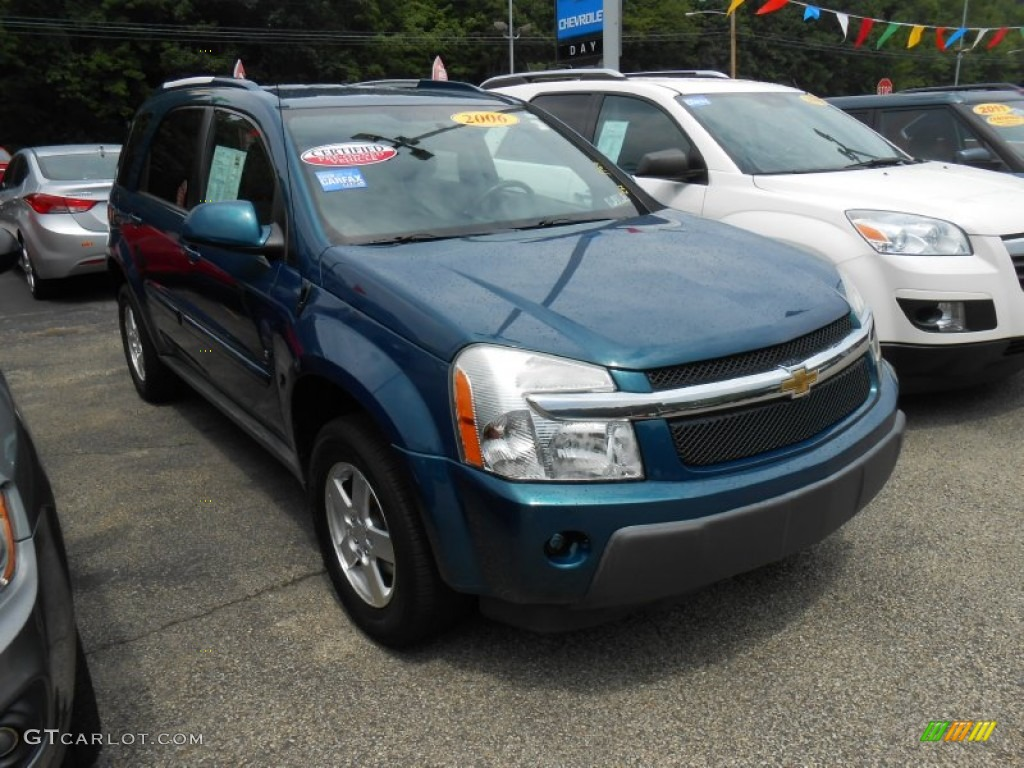 2006 Bermuda Green Metallic Chevrolet Equinox LT AWD 68366944