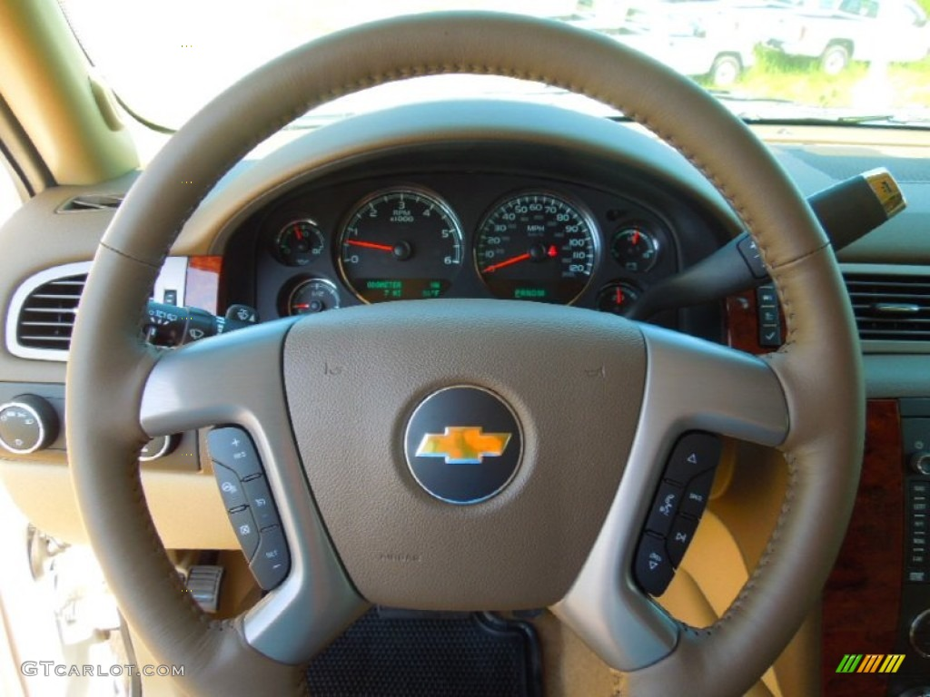 2013 chevrolet tahoe ltz 4x4 steering wheel photos. Black Bedroom Furniture Sets. Home Design Ideas