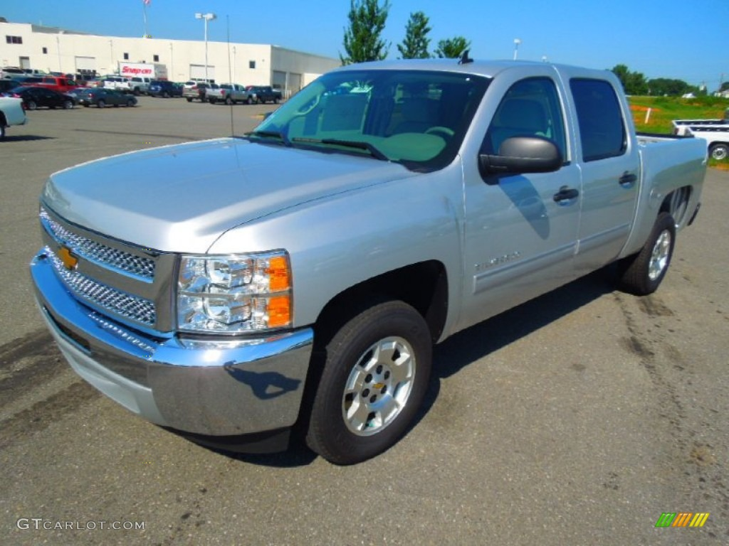2012 Silverado 1500 LT Crew Cab - Silver Ice Metallic / Light Titanium/Dark Titanium photo #1