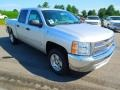 2012 Silver Ice Metallic Chevrolet Silverado 1500 LT Crew Cab  photo #2