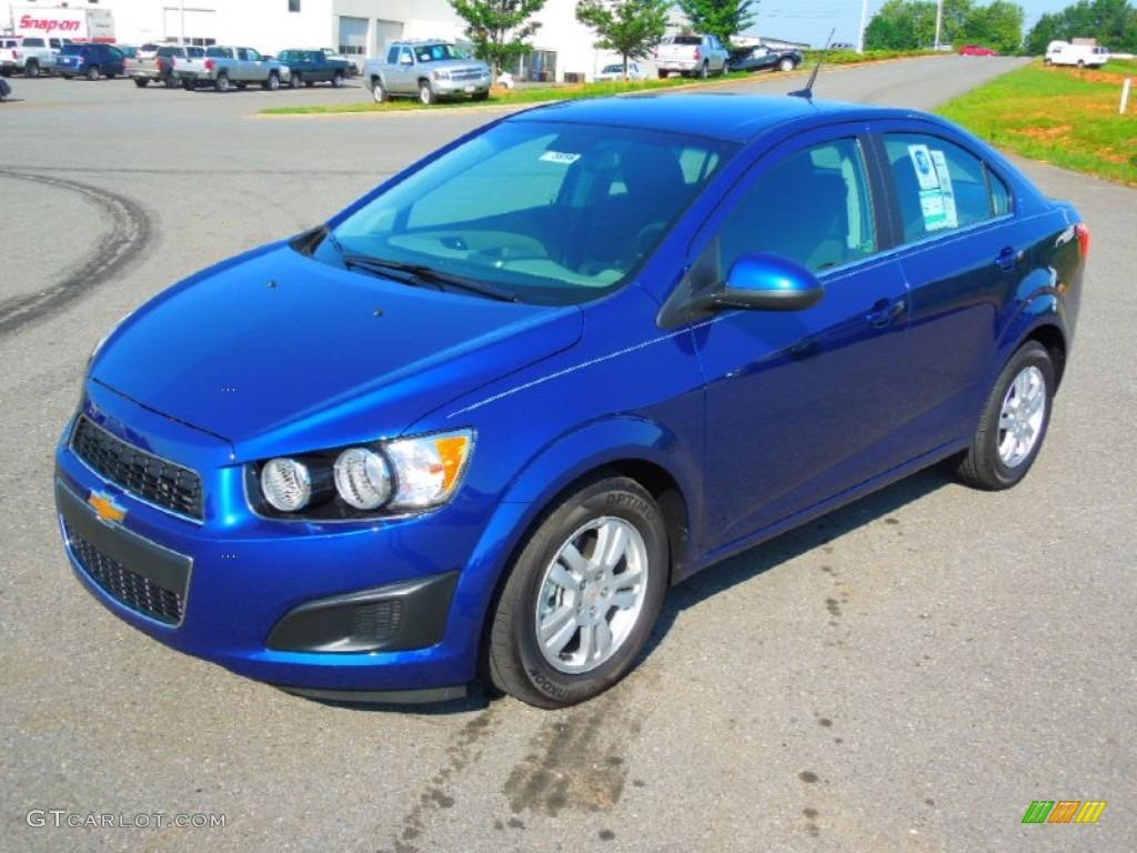 Blue Topaz Metallic 2012 Chevrolet Sonic LT Sedan Exterior Photo ...