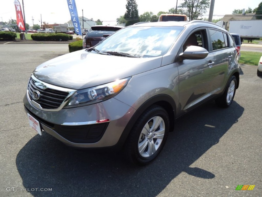 mineral silver 2012 kia sportage lx exterior photo 68409947. Black Bedroom Furniture Sets. Home Design Ideas