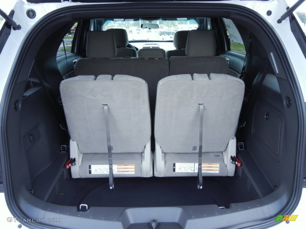 2013 Ford Explorer 4WD Trunk Photo #68411228