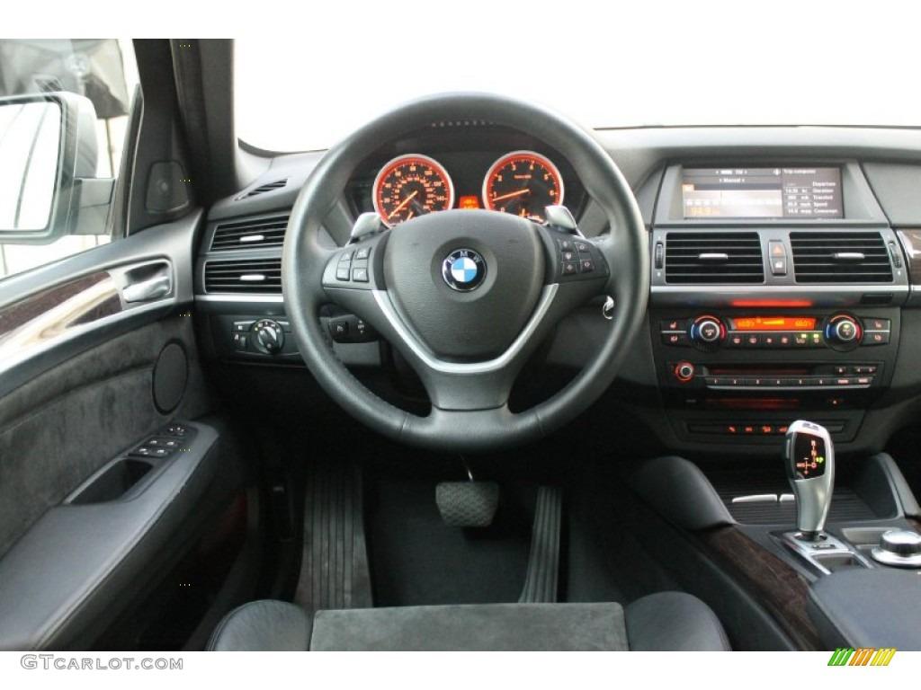 2009 Bmw X6 Xdrive50i Black Alcantara Leather Dashboard