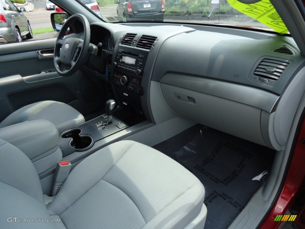 2009 kia borrego lx v6 4x4 gray dashboard photo 68412995. Black Bedroom Furniture Sets. Home Design Ideas