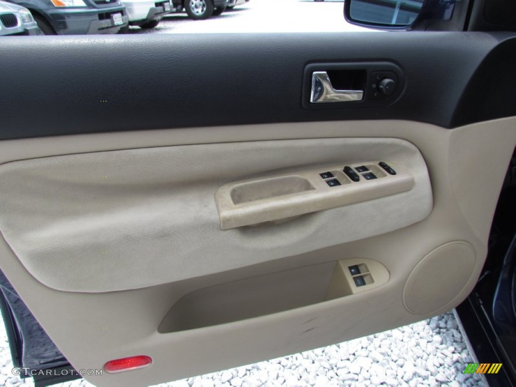 2002 Volkswagen Jetta Gls Wagon Beige Door Panel Photo 68416280