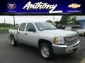 2012 Silver Ice Metallic Chevrolet Silverado 1500 LT Crew Cab 4x4  photo #1