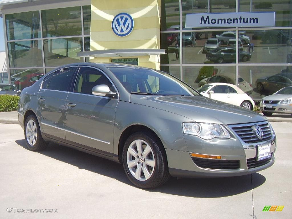 2007 granite green metallic volkswagen passat 2 0t sedan 6838662 car color. Black Bedroom Furniture Sets. Home Design Ideas